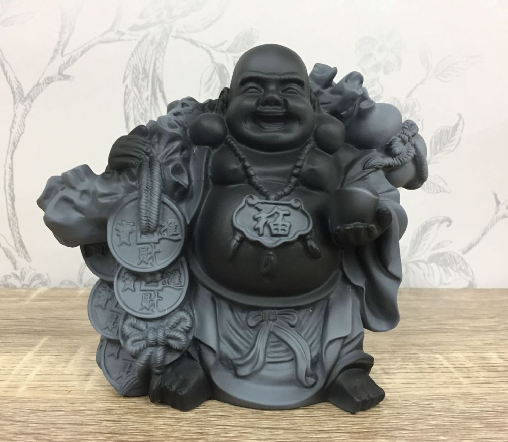 Buddha of Good Fortune Solid Resin Decorative Ornament